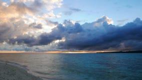Camiguin White Island Sunrise Time Lapse  stock footage