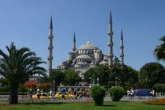 Camii di Costantinopoli Sultanahmet Fotografia Stock