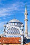 法提赫Camii (Esrefpasa)清真寺在伊兹密尔,土耳其 免版税库存图片