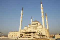 camii kocatepe清真寺 免版税图库摄影