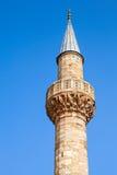 Camii清真寺 中央Konak广场,伊兹密尔,土耳其 免版税图库摄影