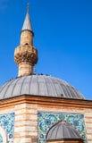 Camii moské, Konak fyrkant, Izmir, Turkiet Arkivbild