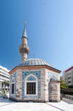Camii Mosque and Clock Tower Stock Photo