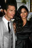 Camila Alves. Matthew McConaughey and Camila Alves  at The Lincoln Lawyer Los Angeles Screening, Arclight Theater, Hollywood, CA. 03-10-11 Stock Images