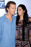 Camila Alves, Matthew Mcconaughey fotos de stock
