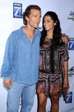 Camila Alves, Matthew Mcconaughey foto de stock royalty free