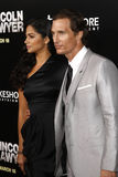Camila Alves and  Matthew Mcconaughey Royalty Free Stock Photos
