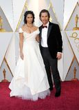 Camila Alves and Matthew McConaughey Stock Photography