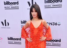 Camila Cabello. At the 2017 Billboard Music Awards held at the T-Mobile Arena in Las Vegas, USA on May 21, 2017 Royalty Free Stock Photography
