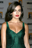 Camilla Belle. Arriving to the Hollywood Film Festival Awards Gala at the Beverly Hilton Hotel in Beverly Hills, CA  on October 27, 2008 Stock Photos