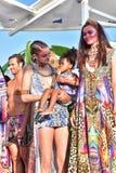 Camilla fashion show Royalty Free Stock Photo