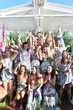Camilla modeshow Royaltyfria Bilder