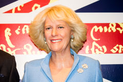 Camilla Parker Bowles wax figure Stock Photo