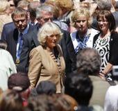 Camilla Saint John Walkabout Royalty-vrije Stock Foto