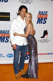 Camille Grammer and Dimitri Charalambopoulos Royalty Free Stock Image