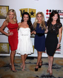 Camille Grammer, Kyle Richards, Adrienne Maloof Stock Photos