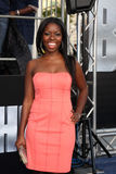 Camille Winbush arrives at the  Stock Images