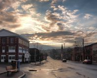 Camillus, New York after rain shower Royalty Free Stock Photos