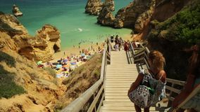 Camilo Beach Algarve almacen de video