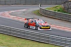 Camilo Black Racing Stock Car Stock Foto