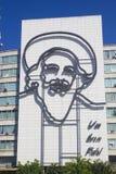 Camilo Cienfuegos bei Plaza de la Revolucion Lizenzfreies Stockfoto