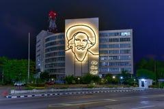 Camilo Cienfuegos Portrait - Havana, Cuba Stock Photos