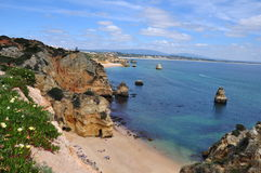 Camilo plaża Fotografia Royalty Free