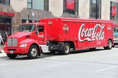 Camión de Coca Cola Imágenes de archivo libres de regalías