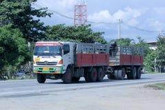 Camión de Veeranan Transport Company Fotos de archivo libres de regalías