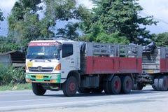 Camión de Veeranan Transport Company Foto de archivo libre de regalías