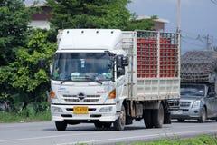 Camión del cargo de Junsom Transport Company Imágenes de archivo libres de regalías
