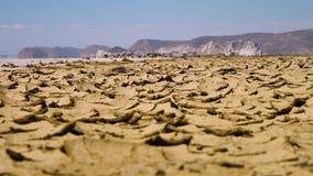Caminando a través del gran desierto de la sal, Irán almacen de video