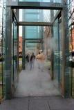Caminando a través del monumento del holocausto, Boston, 2014 Fotografía de archivo libre de regalías