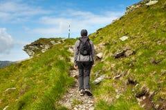 Caminante adolescente Foto de archivo