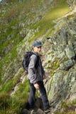 Caminante adolescente Fotografía de archivo libre de regalías