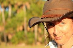 Caminante australiano del arbusto imagen de archivo libre de regalías