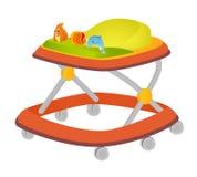 Caminante del bebé Foto de archivo libre de regalías