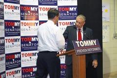 Caminante del gobierno Scott del GOP, y candida del senado del GOP LOS E.E.U.U. Imagenes de archivo
