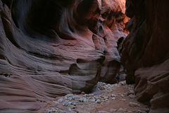 Caminante erosionado del pasillo Foto de archivo