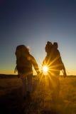 Caminantes Fotografía de archivo libre de regalías