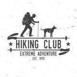 Caminar aventura del extremo del club libre illustration