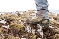 Caminar botas Foto de archivo