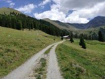 Caminar la cola en Austria Imágenes de archivo libres de regalías