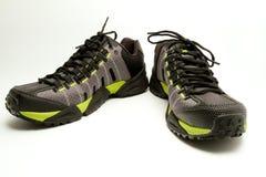Caminar los zapatos Imágenes de archivo libres de regalías