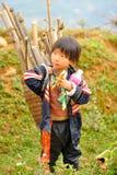 Caminar viaje cerca de Sapa Fotos de archivo libres de regalías