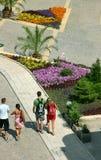 Caminata Imagen de archivo libre de regalías