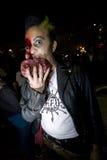 Caminata 22 del zombi del LA Imagenes de archivo
