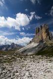 Caminata cerca de los tres picos? Fotos de archivo