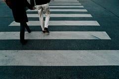 Caminata cruzada fotos de archivo libres de regalías