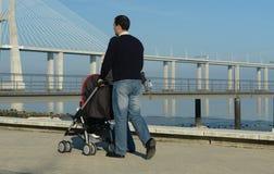 Caminata de domingo Foto de archivo libre de regalías